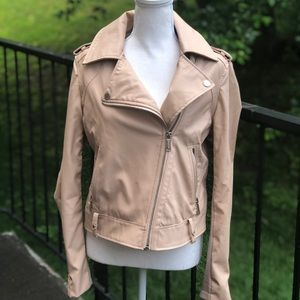 BCBGeneration Faux Leather Moto Inspired Jacket